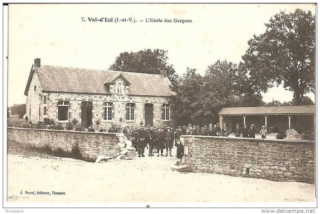 photo école privée des garçons -Val d'Izé